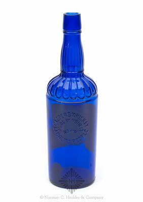 """Casper's Whiskey / Made By Honest / North / Carolina People"" Whiskey Bottle, H #86"