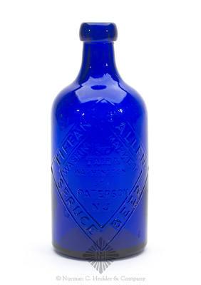 """""""Tiffany & Allen / Spruce Beer / Washington Market / Cor / Fair & / Washington St. / Paterson / N.J."""" - """"Please / Return Bottle / Soon As / Empty"""" Beer Bottle"""