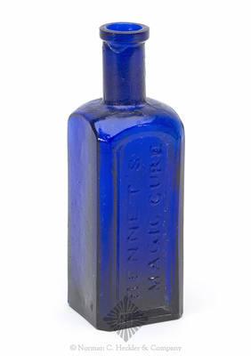 """Bennet's / Magic Cure"" Medicine Bottle, AAM pg. 51"