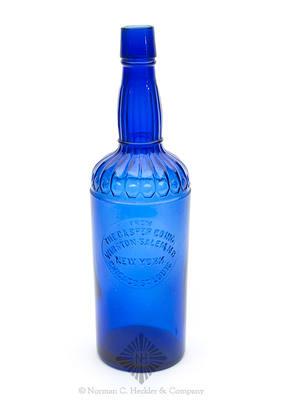 """""""From / The Casper Co. Inc. / Winston-Salem, N.C. / New York. / Chicago, St. Louis."""" Fancy Whiskey Bottle, Similar to H #86"""