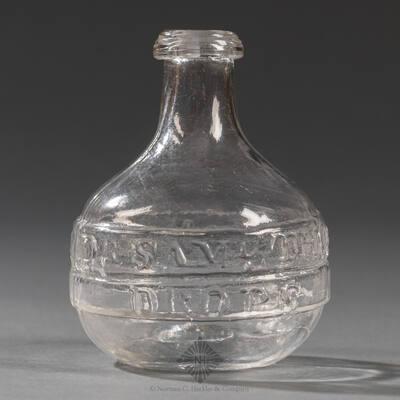 """Dr. Saml Thompsons Patent / Rheumatic Drops"" Medicine Bottle"