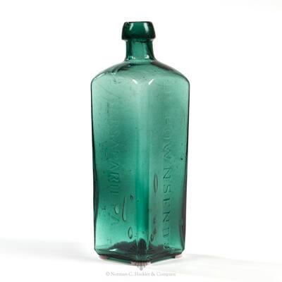""" Dr. Townsend's / Sarsaparilla / Albany / N Y "" Medicine Bottle, AMM pg. 521"