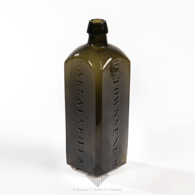 """ Dr. Townsend's / Sarsaparilla / Albany N.Y. No 1 "" Medicine Bottle, AAM pg. 523"