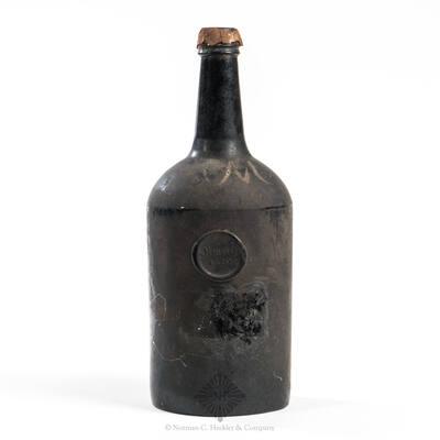 """""""Olmstead / 1820"""" Applied Seal Wine Bottle"""
