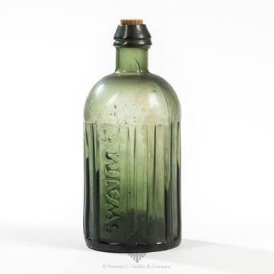 """Swaim's / Panacea / Phila "" Medicine Bottle, AAM pg. 500"