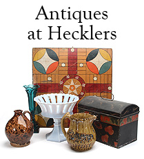 Antiques at Heckler