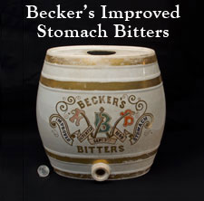 Becker's Improved Stomach Bitters
